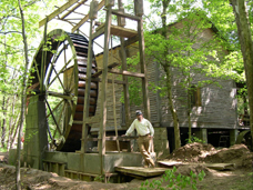 Historic Mill Water Wheel Event site